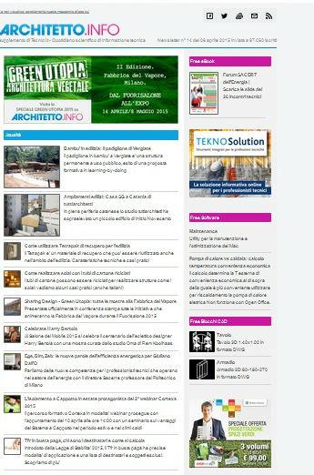 Architetto.info_newsletter