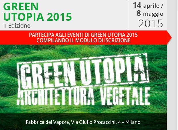Iscriviti a Green Utopia 2015